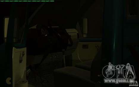 3302-Gazelle 14 Abschleppwagen für GTA San Andreas Innenansicht