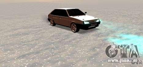 VAZ-2109i Zentrum Seite für GTA San Andreas rechten Ansicht