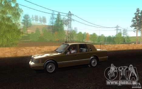 Lincoln Towncar 1991 für GTA San Andreas