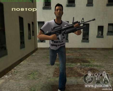 M-16 von Scarface für GTA Vice City fünften Screenshot
