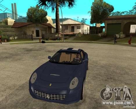 Ferrari 612 Kappa pour GTA San Andreas vue arrière