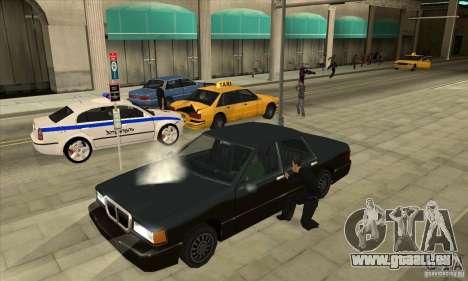 Moteur marche/arrêt phares et portes pour GTA San Andreas deuxième écran