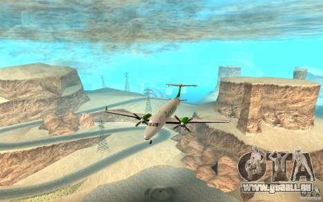 Beechcraft B1900D für GTA San Andreas