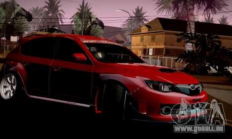 Subaru Impreza WRX Camber pour GTA San Andreas