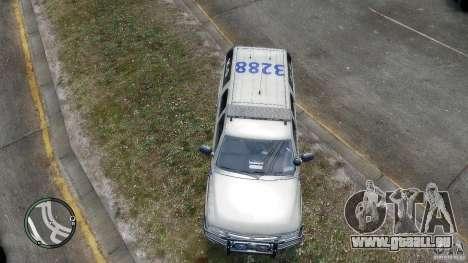 Chevrolet Suburban 2006 Police K9 UNIT für GTA 4 Innenansicht