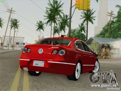 Volkswagen Magotan 2011 pour GTA San Andreas vue de droite