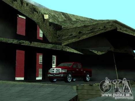 Dodge Ram 1500 v2 für GTA San Andreas Innenansicht
