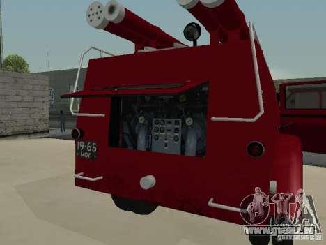 GAZ 51 20 ADC pour GTA San Andreas vue de dessus
