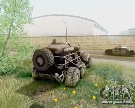 Cheta patte des Borderlands pour GTA San Andreas laissé vue