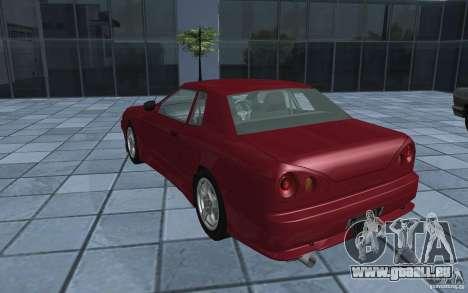 Elegy MS R32 pour GTA San Andreas laissé vue