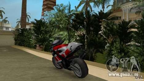 Yamaha YZR 500 V1.2 pour GTA Vice City sur la vue arrière gauche