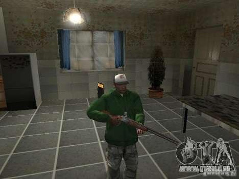 Pak intérieur armes V2 pour GTA San Andreas neuvième écran