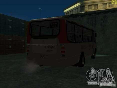 Marcopolo G6 für GTA San Andreas Rückansicht