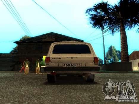 GAZ VOLGA 310221 TUNING version für GTA San Andreas rechten Ansicht