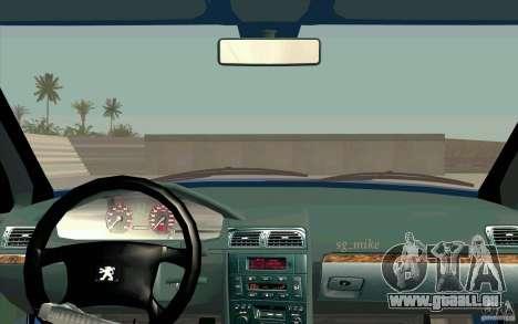 Peugeot 406 1.9 HDi für GTA San Andreas Rückansicht