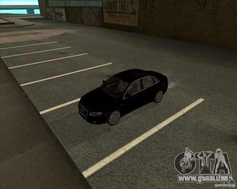 AUDI S4 Sport pour GTA San Andreas vue intérieure