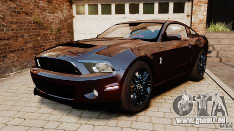 Ford Shelby GT500 2013 pour GTA 4