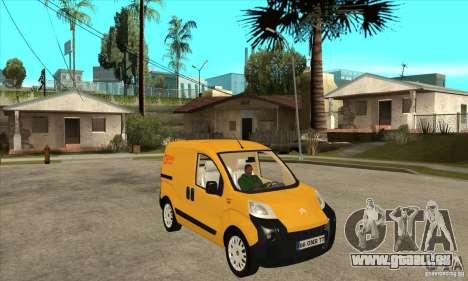 Citroen Nemo 2010 für GTA San Andreas Rückansicht