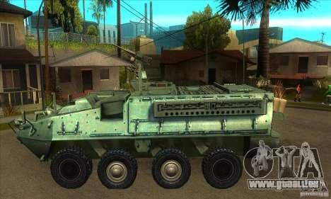 Stryker für GTA San Andreas linke Ansicht