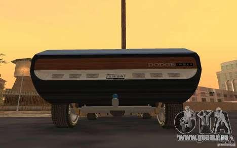 Dodge Deora Concept 1965-1967 für GTA San Andreas zurück linke Ansicht