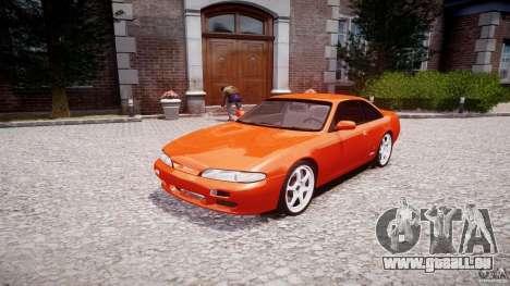 Nissan Silvia Ks 14 1994 v1.0 für GTA 4 Rückansicht