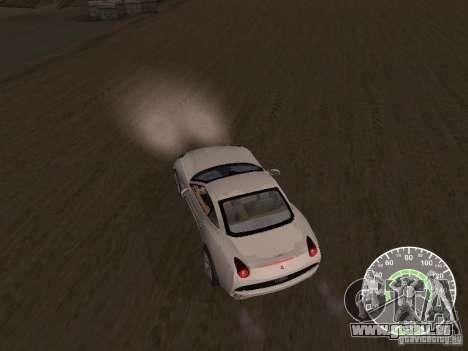 Ferrari California v1 pour GTA San Andreas vue de droite