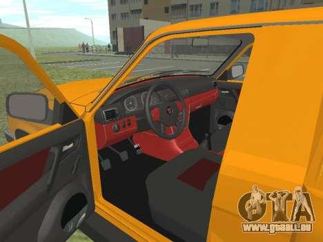 GAZ Trofim 17310 pour GTA San Andreas vue arrière