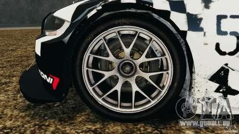 BMW Z4 M Coupe Motorsport pour GTA 4 est une vue de l'intérieur