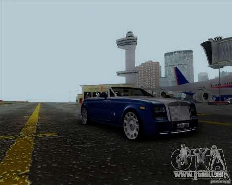 Rolls Royce Phantom Series II Drophead Coupe 12 für GTA San Andreas zurück linke Ansicht
