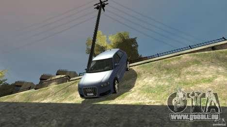 Audi S3 2006 v1.1 n'est pas tonirovanaâ pour GTA 4 est une vue de dessous
