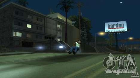 Invisible Blista Compact pour GTA San Andreas