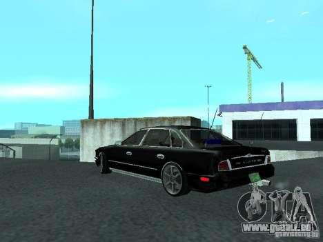 Nissan President JS pour GTA San Andreas sur la vue arrière gauche
