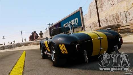 AC Cobra 427 für GTA 4 hinten links Ansicht