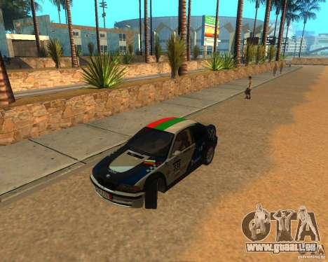BMW 318i E46 2003 pour GTA San Andreas vue arrière