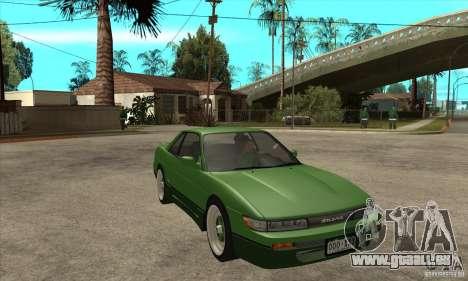 Nissan Silvia S13 1992 Club Ks pour GTA San Andreas vue arrière