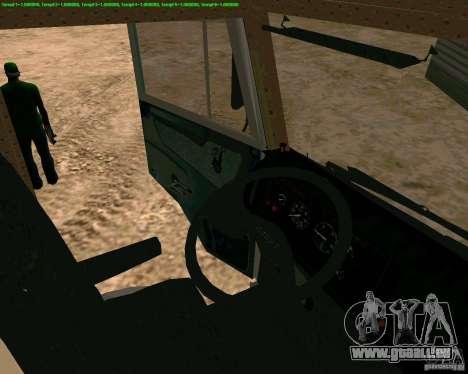 KAMAZ 65117 pour GTA San Andreas vue de droite