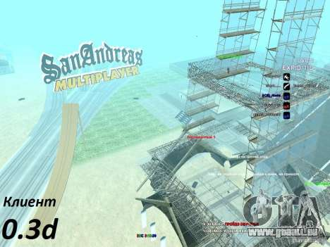 SA:MP 0.3d für GTA San Andreas