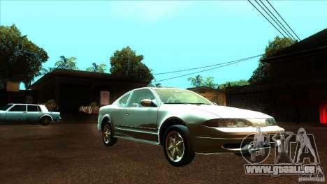 Oldsmobile Alero 2003 für GTA San Andreas Rückansicht