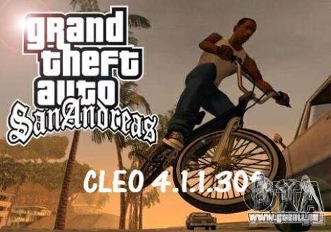CLEO 4.1.1.30f für GTA San Andreas