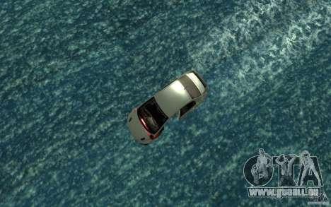 Honda Civic Mugen RR Boat pour GTA San Andreas vue de droite