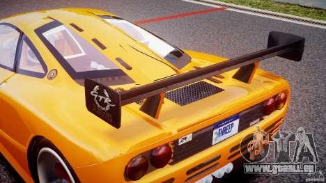 Mc Laren F1 LM v1.0 pour GTA 4 est un côté