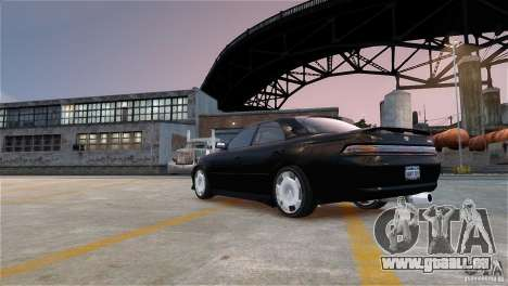 Toyota Mark II 2.5 pour GTA 4 est une vue de l'intérieur