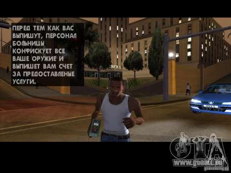 Le détonateur pour GTA San Andreas quatrième écran