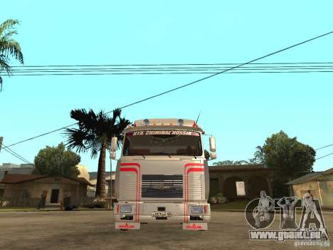 MAZ 543205 Tuning für GTA San Andreas rechten Ansicht
