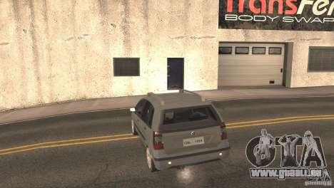 Fiat Idea HLX für GTA San Andreas Rückansicht