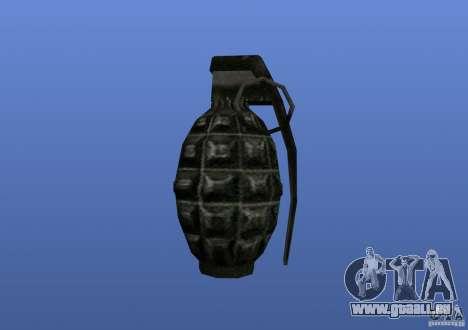 Grenade pour GTA 4 quatrième écran