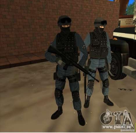 Los Angeles S.W.A.T. Skin für GTA San Andreas zweiten Screenshot