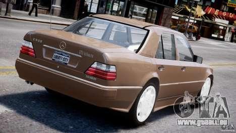 Mercedes-Benz W124 E500 1995 pour GTA 4 roues
