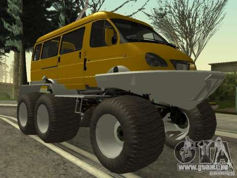 Gazelle 2705 swamp buggy pour GTA San Andreas