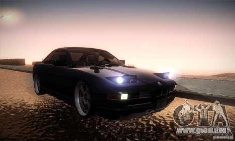 BMW Alpina B12 850i pour GTA San Andreas vue arrière